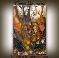 Music Art painting GUITAR MUSIC ART Painting Original pop abstract paintings online gallery acoustic guitar Fine art artwork on Canvas Guitar Painting, Music Painting, Guitar Art, Online Painting, Paintings Online, Acoustic Guitar, Music Collage, Art Music, Original Paintings