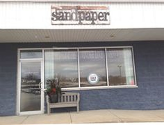 Sandpaper is a store in Schererville, Indiana  with a rustic farmhouse feel inspired by French country style.