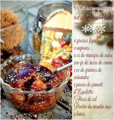 Ingredients pour 6 personnes Lavre et équeutez les figues, coupez-les en quatre. Épluchez les oignons et les ciselez-les finement. Faites cuire le tout dans une casserole avec le vinaigre, le sucre, le piment, les graines de coriandre concassées, du sel,...