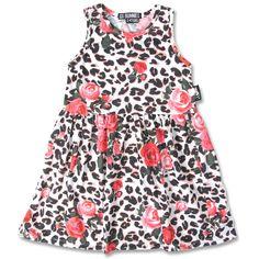 Floral Leopard Dress