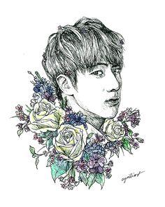 Kim Seokjin is art. Art is Kim Seokjin.