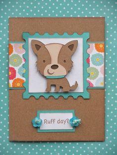 cricut create a critter poodle card | Cricut Create a Critter