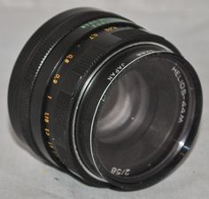 HELIOS-44M SLR 2/58 Camera Lens with M42 Screw Fit #7601902, Made in USSR