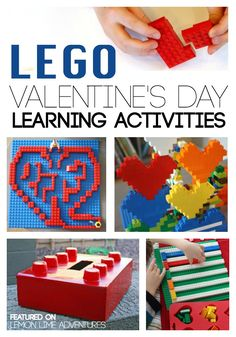 lego Valentines Day Learning Activities