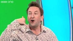 Did Lee Mack Donate his dibber to the British Lawnmower Museum? - Would I Lie to You? - BBC One Lee Mack, Bbc One, Viral Videos, Comedians, I Laughed, Funny Pictures, British, Men Casual, Museum