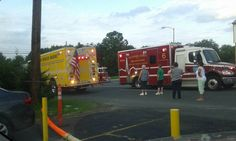 Motor Vehicle Accident With Rescue and Injures Lynch Road and Gray Haven Road in Dundalk Maryland