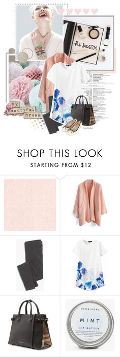 """Clumsy"" by color-me-red ❤ liked on Polyvore featuring Beacon, Prada, GINTA, Chicwish, Madewell, Burberry and Topshop"