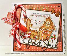Gingerbread House - Digital Stamp