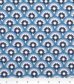 Pacifica Blue Tiled Flower