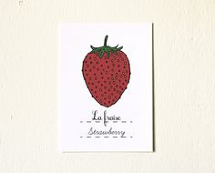 Another adorable strawberry print! #pinhonest