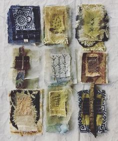 roxanne evans stout- These little bundles of fabric and paper are going to be pa Home Deco bundles evans Fabric Paper roxanne stout textile art Textile Fiber Art, Textile Artists, Fabric Painting, Fabric Art, Stitch Book, Fabric Journals, Handmade Books, Art Plastique, Altered Art