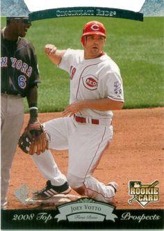 Joey Votto Rookie Card.