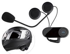 Motorcycle Helmet Bluetooth Intercom Kit #Motorcycle