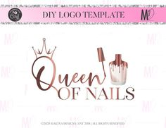 NAIL LOGO DESIGN nails Logo Logo design Logo Premade logo   Etsy Custom Logo Design, Custom Logos, Graphic Design, Logan, Beauty Bar Salon, Logo Foto, Doodle, Makeup Artist Logo, Nail Artist