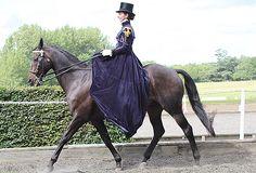 The Side Saddle Association Concours d'Elegance beautiful.