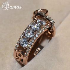 18 k gold filled Cuivre Unisexe Bijoux Couleur Or Réglable Wrap Finger Ring