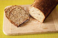 Das fertige Chia-Sonnenblumen-Brot