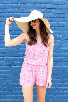 This one-piece is ideal for a vacation because it doesn't take up too much suitcase space and can be worn around town or as a cover up.