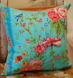 Shabby Chic Pillow Cover Throw Pillow by KenilworthPlace on Etsy, $26.00