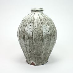 fluted bottle at Northern clay center