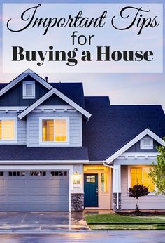 Important Tips for Buying a House. If you're thinking about buying a house, be sure to follow these very simple tips before you even begin!