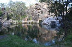 Coomba Falls, Maidenwell. Photo Tessa Mapstone / South Burnett Times