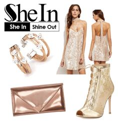 """""""shein 11/23"""" by shannongarner ❤ liked on Polyvore featuring Charriol, Gianvito Rossi and Alexander Wang"""