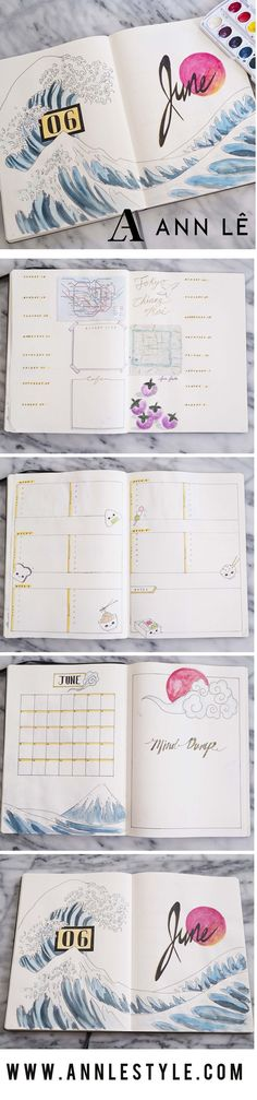 PLAN WITH ME | June 2017 Bullet Journal