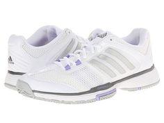 buy online b86cf e83e9 Adidas barricade team 4 white silver metallic light flash purple