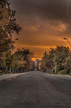 Braila, Romania (by Radu Arama) Romania, Country Roads, Celestial, Sunset, Travel, Outdoor, Outdoors, Viajes, Destinations