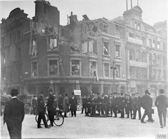 While two German airships bombed Woolwich and Croyden, another dropped its lethal arsenal over Westminster and the City of London.  The first bombs hit the Lyceum theatre in the midst of a performance and a pub just behind, killing many of those crowded into the buildings.  54 civilians and 17 soldiers in the raids.  Another man, a London landlord, killed himself two decades later, apparently still suffering from the horrors he witnessed that night.  It was the heaviest Zeppelin raid of the…