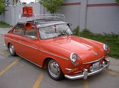 1965 VW Type 3 Fastback custom