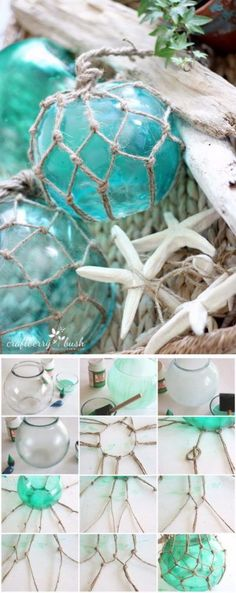 26 DIY Large Glass Buoys                                                                                                                                                                                 More