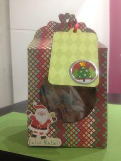 Caixinha para biscoitos, balas,doces by Tildas. Entrando no clima do Natal!!!