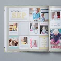 The Best Year Photobook Template -- Digital Download by Stampin' Up!