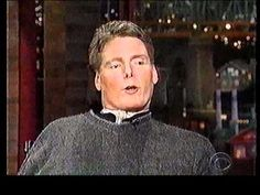 """Christopher Reeve interview on Late Show   """"Christopher Reeve needed a ventilator for the exact same physiological reason that a """"brain dead"""" person needs a ventilator. Second, I want you to consider what he says at 3:15, and think of what it might be like to be...Christopher Reeve...but with a completely paralyzed face, and paralyzed eyes."""" -Mrs. J"""