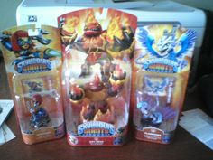 A Skylanders collection from our Facebook fan Nelson! Thanks for the submission! Use the hashtags #SkylandersCollection and #toys and maybe we'll repin yours!