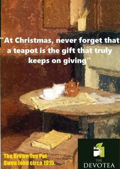 Xmas tea quote from www.the-devotea.com