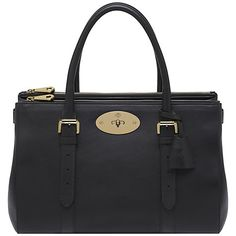 Buy Mulberry Bayswater Double Zip Toe Bag Online at johnlewis.com