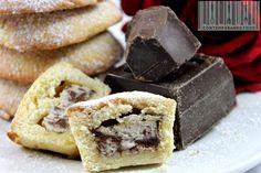 Cioccolato ricotta: i ripieni dei miei dolcetti di frolla morbida.