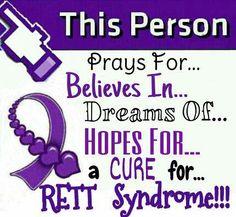 23 best rett syndrome awareness images on pinterest rett syndrome