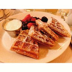 Balthazar, Covent Garden  Sunday waffles  #Sunday #waffles #breakfast #delicacies #yummy #foodporn