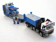 KWS GINAF with trailer and road roller (1) | Flickr - Photo Sharing!