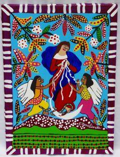 Ermelinda. Nossa Senhora Desatadora dos Nós. 33x24 cm