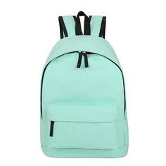 MANWEN Backpack Men Women Simple Style Pure Canvas Backpacks College School Book Bag Backpack Women Rucksack Mochilas Femininas