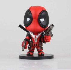 Buy X-men Deadpool Q Version PVC Action Figure Collectible Toy Doll at Wish - Shopping Made Fun Marvel Deadpool Movie, Deadpool Hero, Superman Figure, Avengers, Marvel X, Deadpool Gifts, Deadpool Superhero, Kids Birthday Gifts, Party