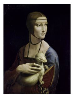 I love a good Da Vinci, and the little ferret thing just makes this awesome. Think I need this in my living room.