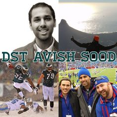Meet Your Digital Street Team- Hey NFL fans! I'm Avish Sood from Toronto, Ontario. I'm a big Philadelphia Eagles fan (#FlyEaglesFly), fantasy football stud and a sports business professional. When I'm not watching the NFL, I'm shooting hoops , travelling and playing the guitar. Let's connect and talk on Twitter & Instagram @avishsood