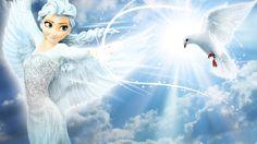 Frozen - 1920x1080 (Elsa Fly) by CoGraphiC.deviantart.com on @DeviantArt