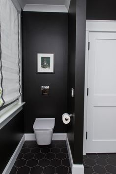 Tucked behind a privacy wall, a contemporary wall-mounted toilet by DXV, with its tank buried beneath the studs, contributes to the sleek aesthetic in our master bathroom. Bathroom Toilets, Bathroom Faucets, Small Bathroom, Master Bathroom, Bathroom Ideas, Beige Bathroom, Bathroom Inspo, Bathroom Designs, Bathrooms